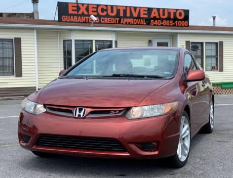 2006 Honda Civic for sale at Executive Auto in Winchester VA