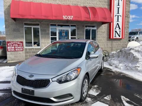 2016 Kia Forte for sale at Titan Auto Sales LLC in Albany NY