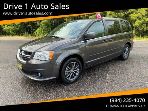 2017 Dodge Grand Caravan for sale at Drive 1 Auto Sales in Wake Forest NC