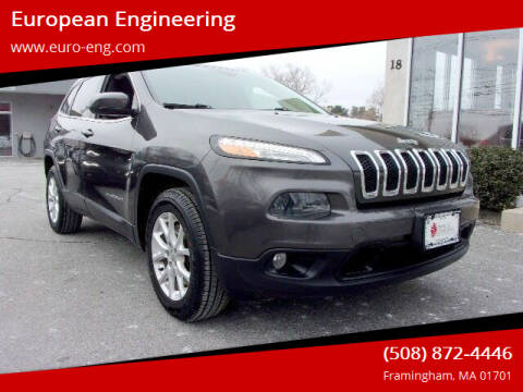 2014 Jeep Cherokee for sale at European Engineering in Framingham MA