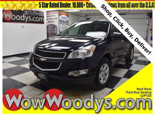 2012 Chevrolet Traverse for sale at WOODY'S AUTOMOTIVE GROUP in Chillicothe MO