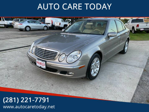 2006 Mercedes-Benz E-Class for sale at AUTO CARE TODAY in Spring TX