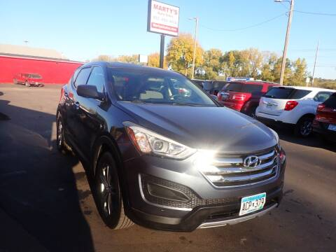 2015 Hyundai Santa Fe Sport for sale at Marty's Auto Sales in Savage MN