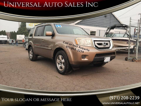 2009 Honda Pilot for sale at Universal Auto Sales Inc in Salem OR