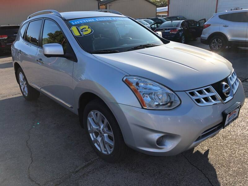 2013 Nissan Rogue for sale at Bibian Brothers Auto Sales & Service in Joliet IL