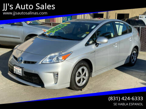 2013 Toyota Prius for sale at JJ's Auto Sales in Salinas CA