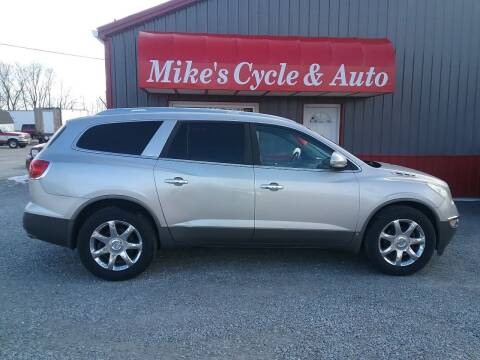2008 Buick Enclave for sale at MIKE'S CYCLE & AUTO in Connersville IN