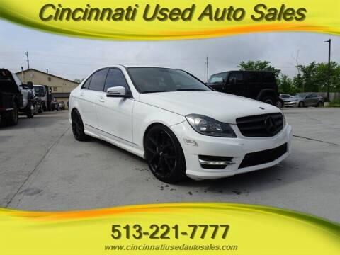 2013 Mercedes-Benz C-Class for sale at Cincinnati Used Auto Sales in Cincinnati OH