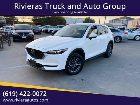 2019 Mazda CX-5 for sale at Rivieras Truck and Auto Group in Chula Vista CA