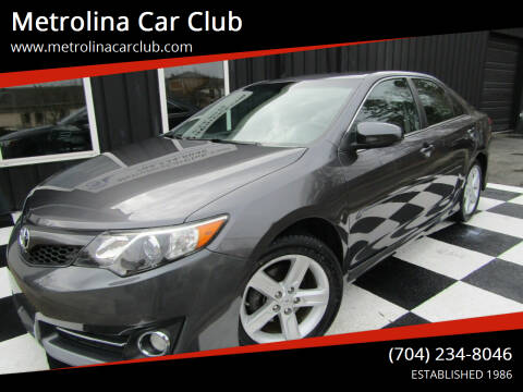 2014 Toyota Camry for sale at Metrolina Car Club in Matthews NC