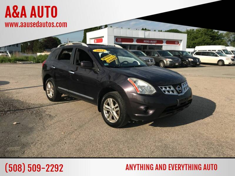 2013 Nissan Rogue for sale at A&A AUTO in Fairhaven MA