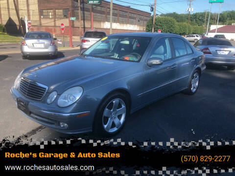 2004 Mercedes-Benz E-Class for sale at Roche's Garage & Auto Sales in Wilkes-Barre PA