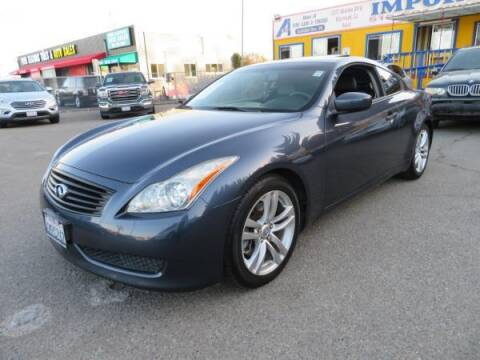 2010 Infiniti G37 Coupe for sale at Import Auto World in Hayward CA