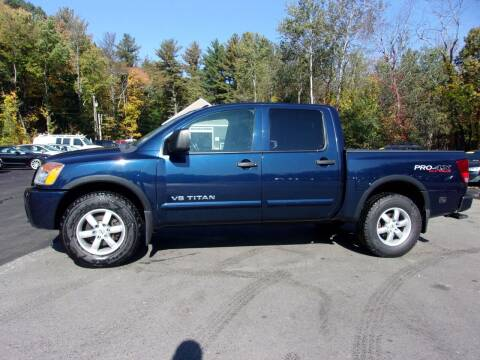 2012 Nissan Titan for sale at Mark's Discount Truck & Auto in Londonderry NH