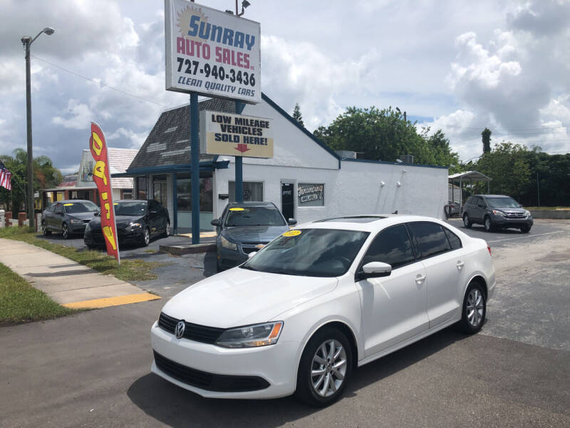 2012 Volkswagen Jetta for sale at Sunray Auto Sales Inc. in Holiday FL