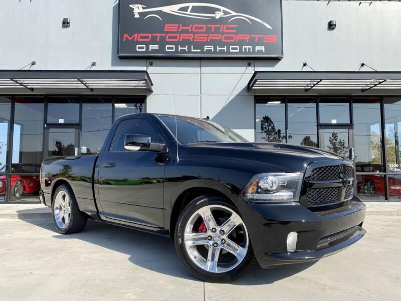 2013 RAM Ram Pickup 1500 for sale at Exotic Motorsports of Oklahoma in Edmond OK