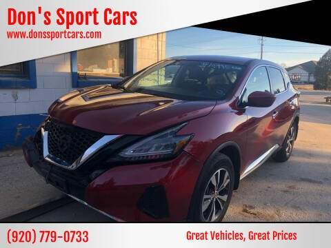 2019 Nissan Murano for sale at Don's Sport Cars in Hortonville WI