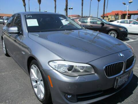 2011 BMW 5 Series for sale at F & A Car Sales Inc in Ontario CA
