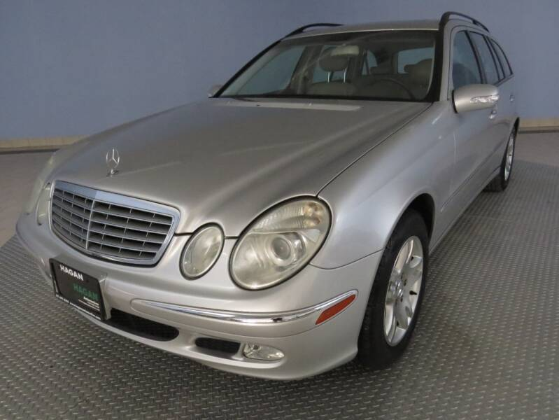 2004 Mercedes-Benz E-Class for sale at Hagan Automotive in Chatham IL