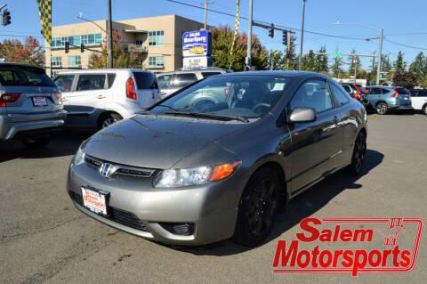 2008 Honda Civic for sale at Salem Motorsports in Salem OR