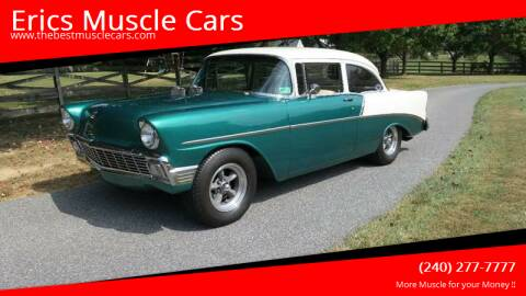 1956 Chevrolet 210 for sale at Erics Muscle Cars in Clarksburg MD
