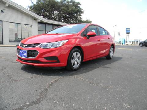 2017 Chevrolet Cruze for sale at MARK HOLCOMB  GROUP PRE-OWNED in Waco TX