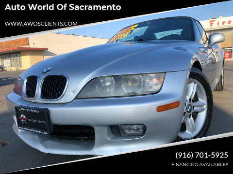 2000 BMW Z3 for sale at Auto World of Sacramento Stockton Blvd in Sacramento CA
