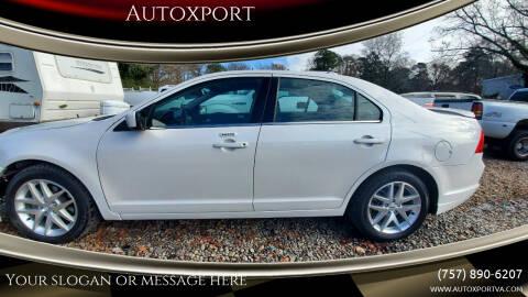 2012 Ford Fusion for sale at Autoxport in Newport News VA