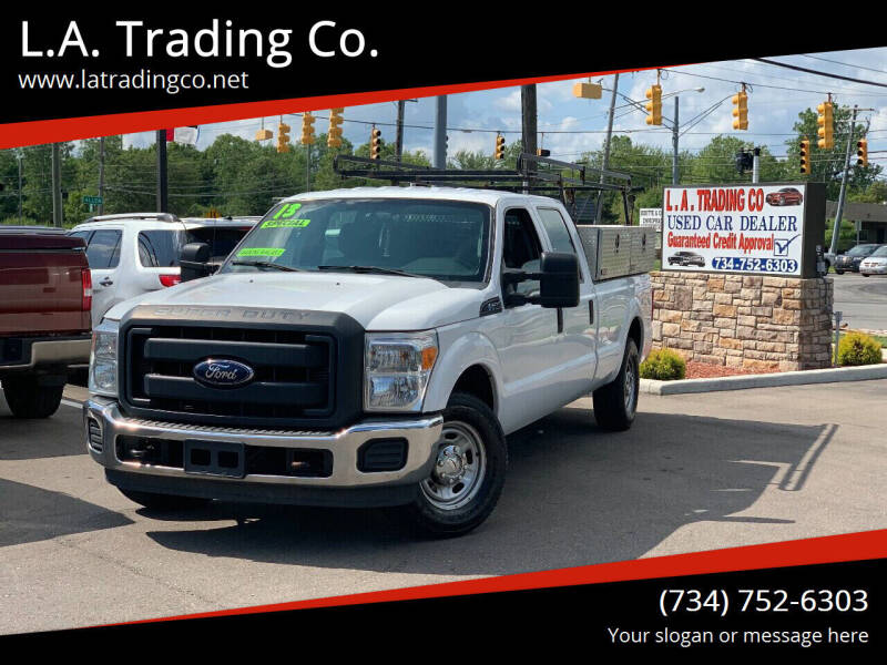 2013 Ford F-250 Super Duty for sale at L.A. Trading Co. Woodhaven in Woodhaven MI