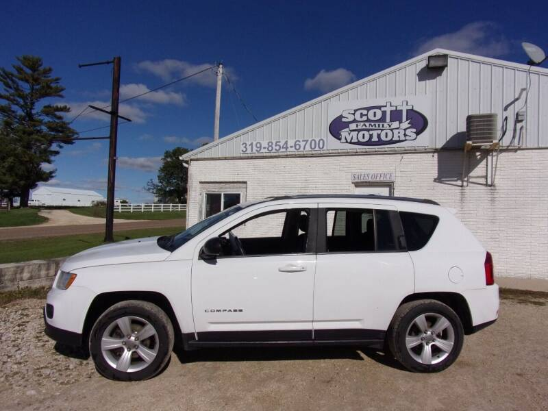 2013 Jeep Compass for sale at SCOTT FAMILY MOTORS in Springville IA