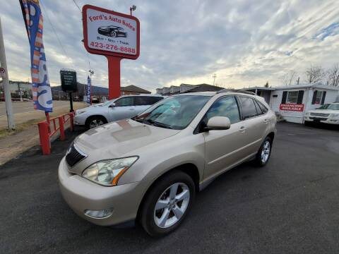 2007 Lexus RX 350 for sale at Ford's Auto Sales in Kingsport TN