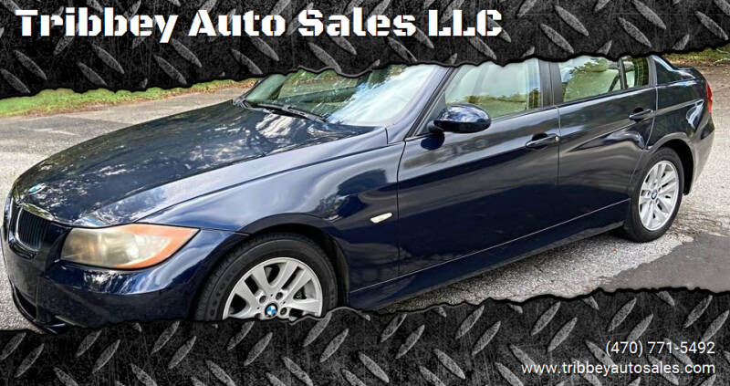2007 BMW 3 Series for sale at Tribbey Auto Sales in Stockbridge GA