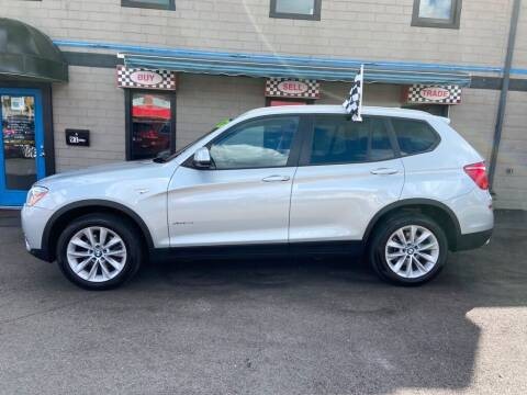 2017 BMW X3 for sale at Sisson Pre-Owned in Uniontown PA