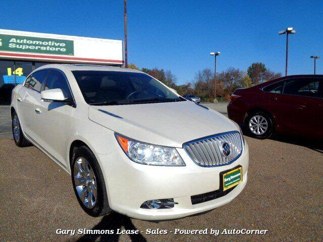 2011 Buick LaCrosse for sale at Gary Simmons Lease - Sales in Mckenzie TN