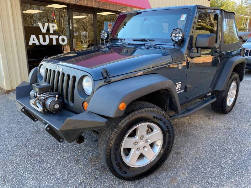 2007 Jeep Wrangler for sale at VP Auto in Greenville SC