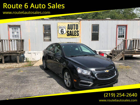 2015 Chevrolet Cruze for sale at Route 6 Auto Sales in Portage IN