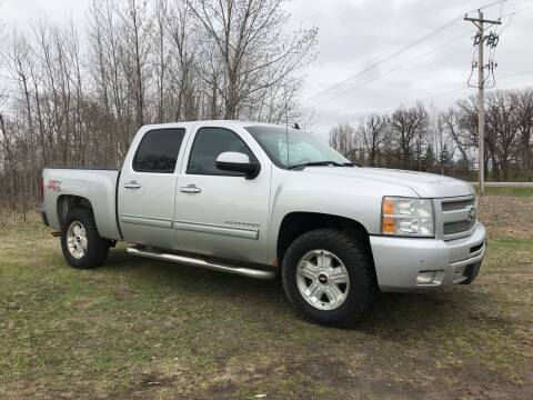 2011 Chevrolet Silverado 1500 for sale at Overvold Motors in Detriot Lakes MN