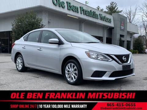 2017 Nissan Sentra for sale at Ole Ben Franklin Mitsbishi in Oak Ridge TN