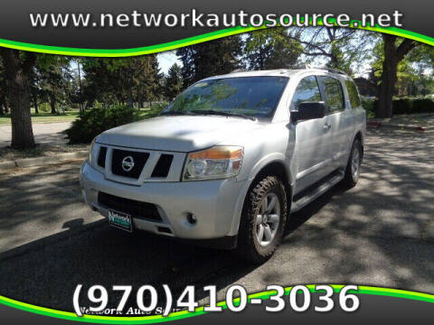2013 Nissan Armada for sale at Network Auto Source in Loveland CO