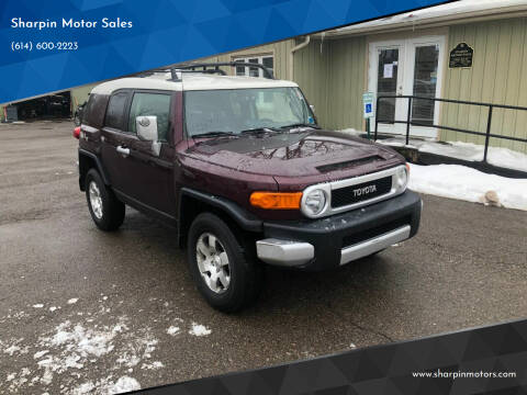 2007 Toyota FJ Cruiser for sale at Sharpin Motor Sales in Columbus OH