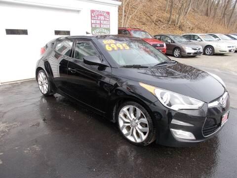 2012 Hyundai Veloster for sale at Dansville Radiator in Dansville NY