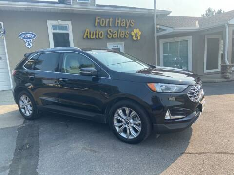 2019 Ford Edge for sale at Fort Hays Auto Sales in Hays KS