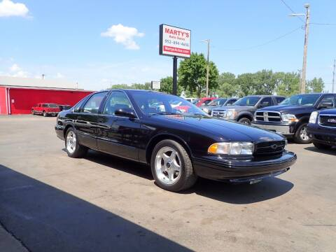 1996 Chevrolet Impala for sale at Marty's Auto Sales in Savage MN