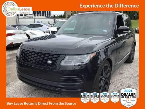 2020 Land Rover Range Rover for sale at Dallas Auto Finance in Dallas TX