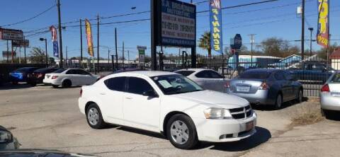 2010 Dodge Avenger for sale at S.A. BROADWAY MOTORS INC in San Antonio TX