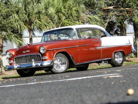 1955 Chevrolet Bel Air for sale at SURVIVOR CLASSIC CAR SERVICES in Palmetto FL