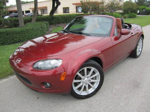 2008 Mazda MX-5 Miata for sale at FLORIDACARSTOGO in West Palm Beach FL
