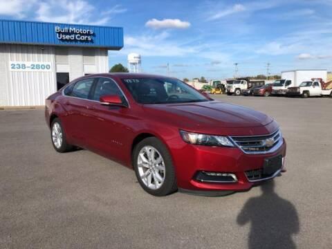 2020 Chevrolet Impala for sale at BULL MOTOR COMPANY in Wynne AR