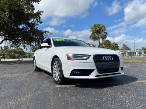 2013 Audi A4 for sale at Lamberti Auto Collection in Plantation FL