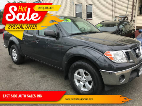 2011 Nissan Frontier for sale at EAST SIDE AUTO SALES INC in Paterson NJ